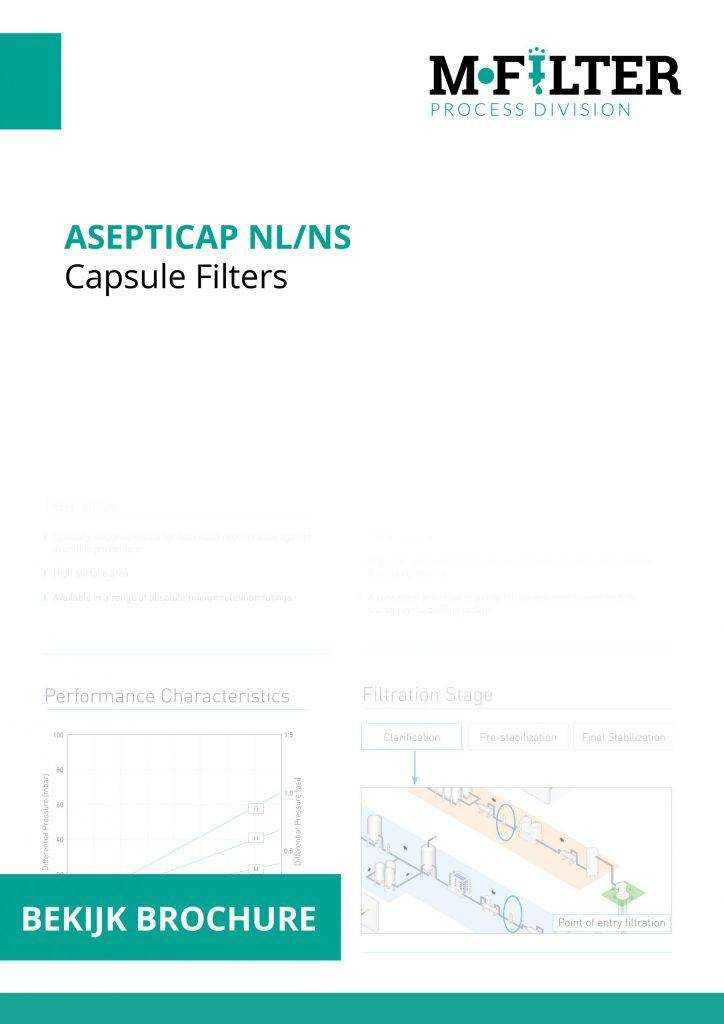 Cover brochure AseptiCap NL/NS